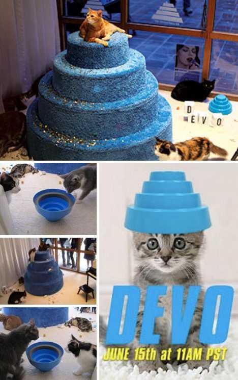 DEVO Energy Dome Cat Listening Party