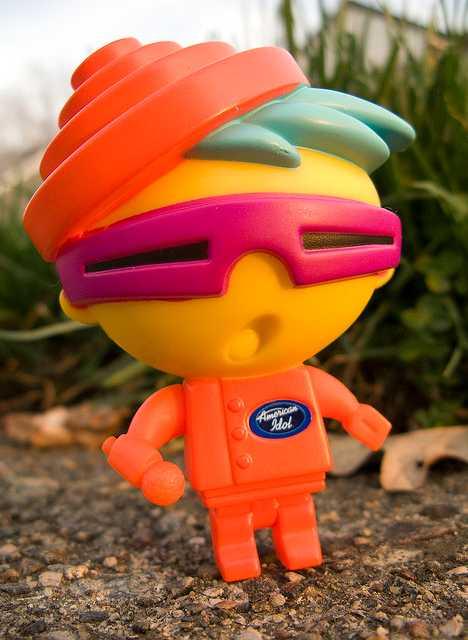DEVO Energy Dome McDonald's New Wave Nigel toy