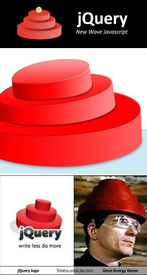 DEVO red Energy Dome jQuery logo