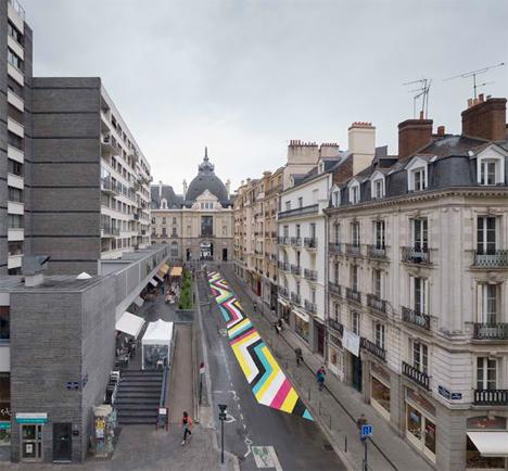 Geometric Street Paintings France 1
