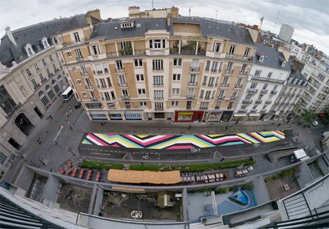 Geometric Street Paintings France 2