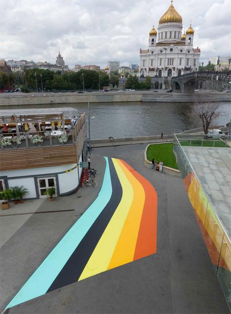 Geometric Street Paintings France 5