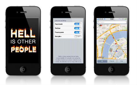 Hell is Other People Smartphone App 3
