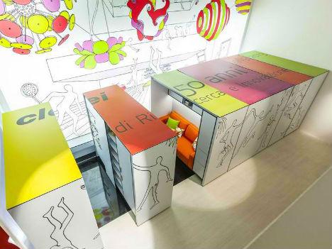 Modular Shelf Compact Living Rooms 2