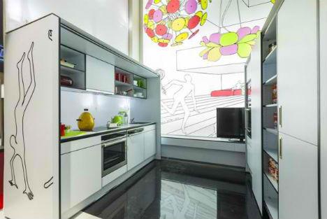 Modular Shelf Compact Living Rooms 4