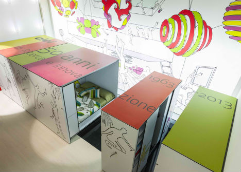Modular Shelf Compact Living Rooms 5