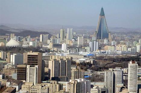 Ryugyong Hotel North Korea 2