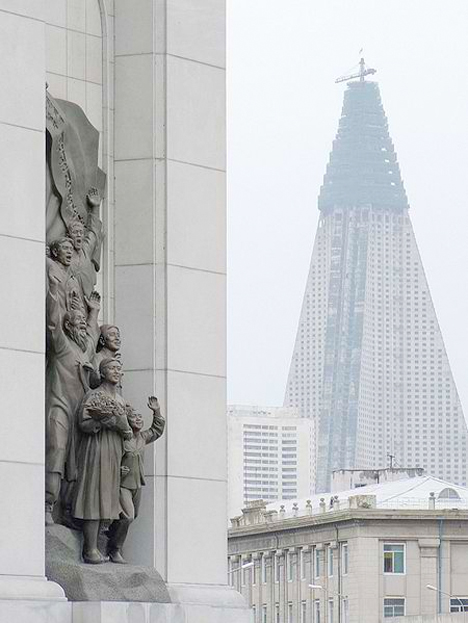 Ryugyong Hotel North Korea 5