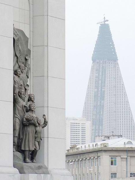Ryugyong Hotel North Korea 5