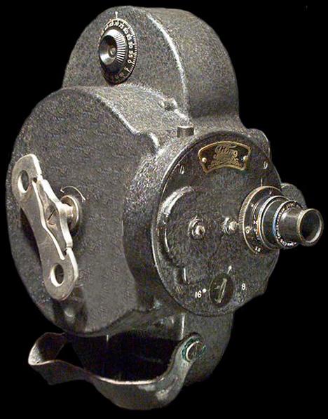 Unusual Cameras Key Wind Clockwork