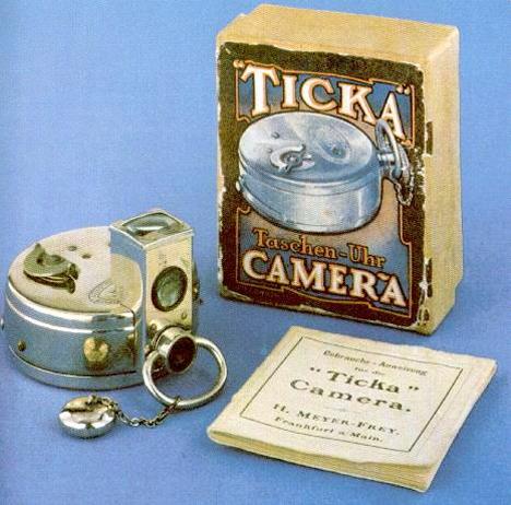 Unusual Cameras Ticka Watch