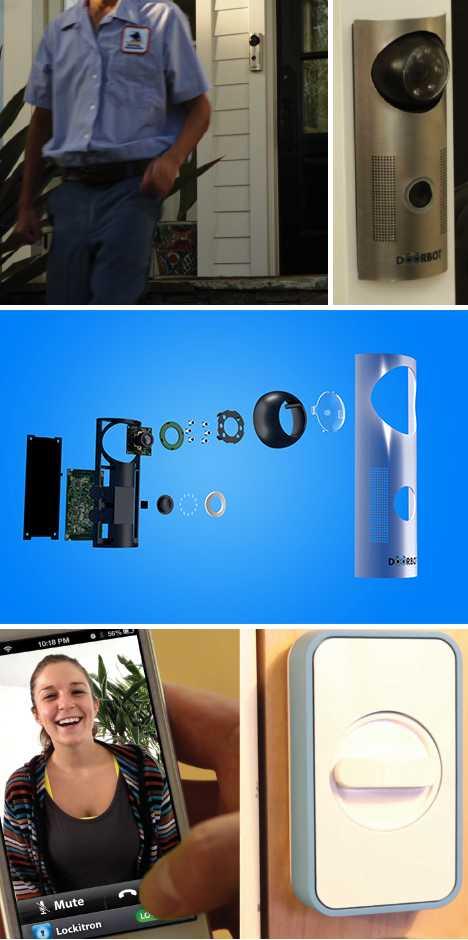 DoorBot Wi-Fi smartphone doorbell