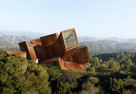 futuristic infinity house design