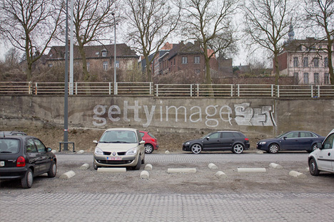 graffiti getty images spoof