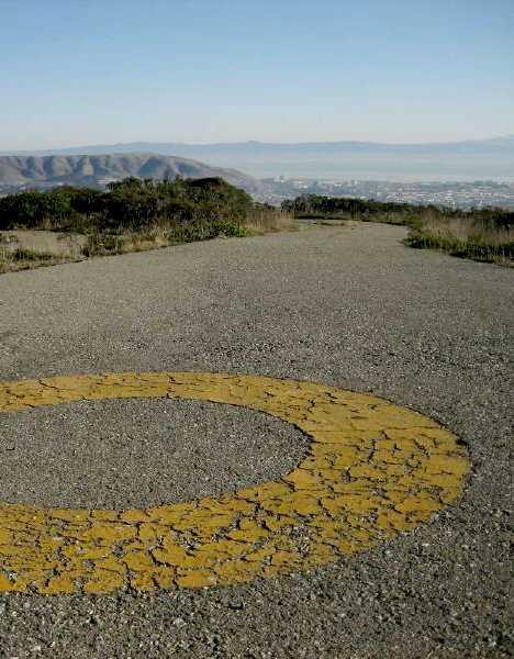 abandoned helipad Sweney Ridge California