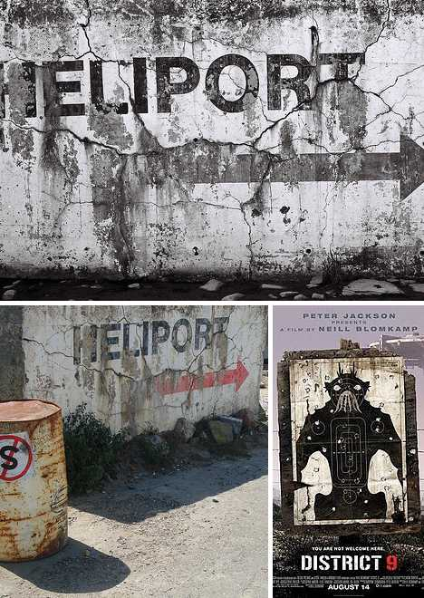 abandoned heliport Cape Town South Africa