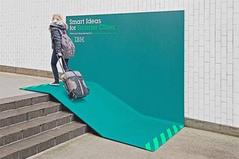 ibm ramp billboard