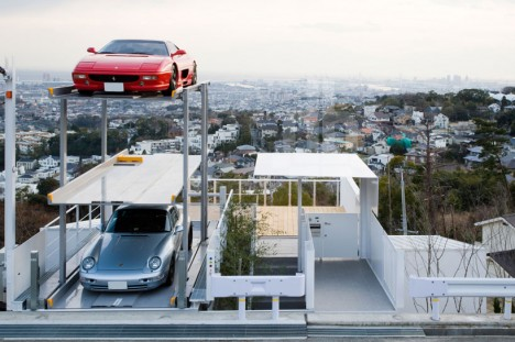 japanese car lift stack