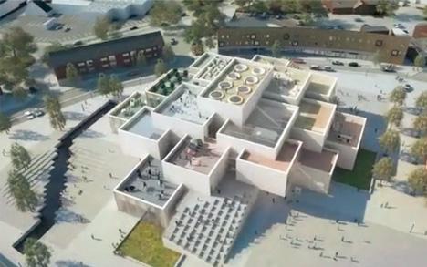 lego big hometown headquarters