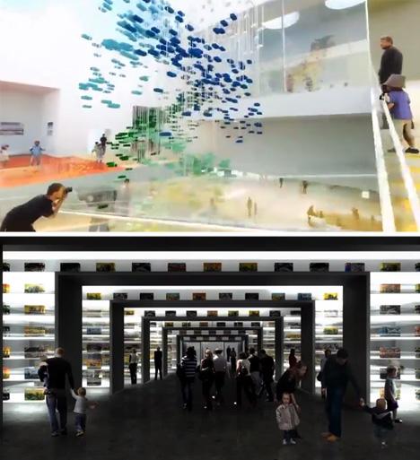 lego experience center interior