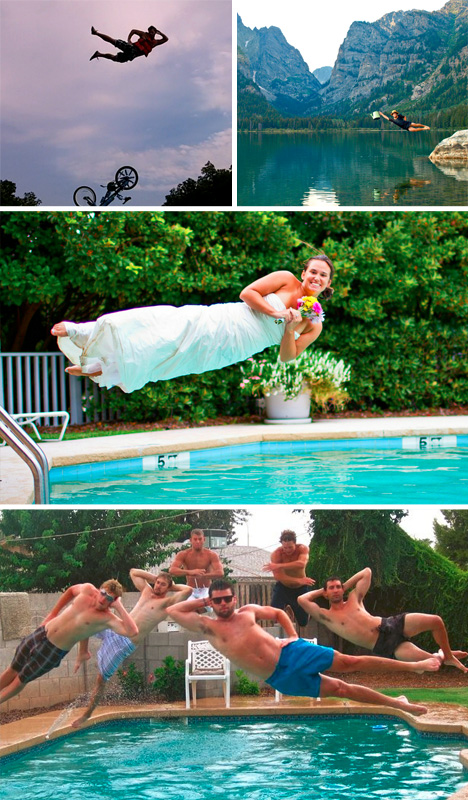 leisure dives various photos