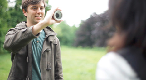 lens camera photographer subject