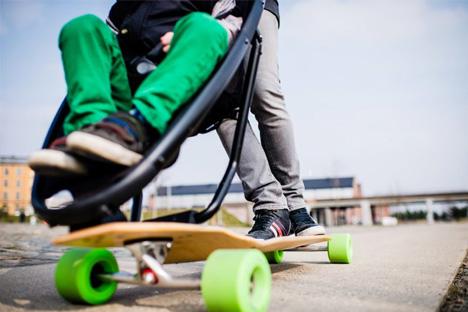 longboard stroller roll cage