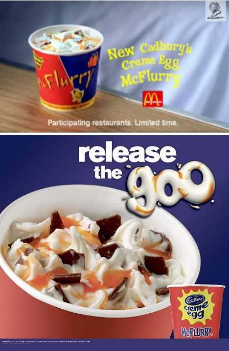 Cadbury Creme Egg McFlurry