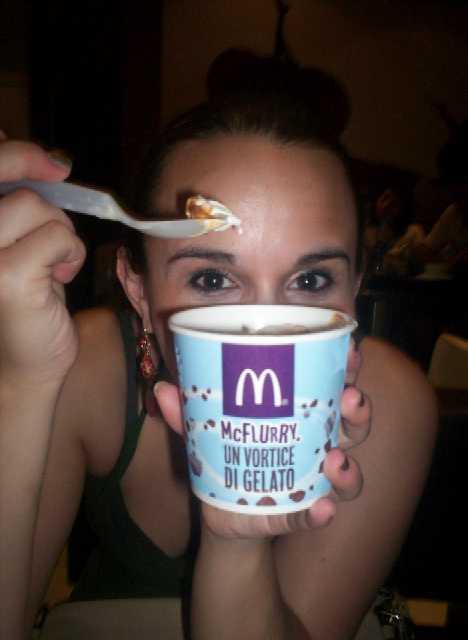 McDonald's Baci McFlurry Italy Cucina Prima Donna