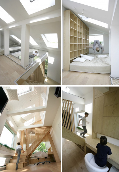 modular brother sister interior