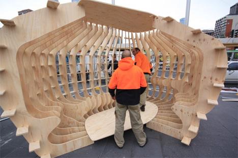 modular pre-cut easy assemble emergency shelters