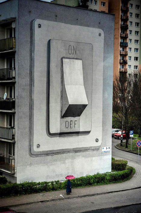 mural on off switch