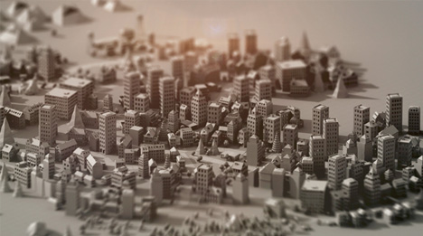 paper city animation project