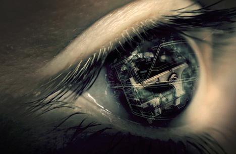 surreal bionic eye reality