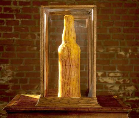 3B Printing Honeycomb Bottle