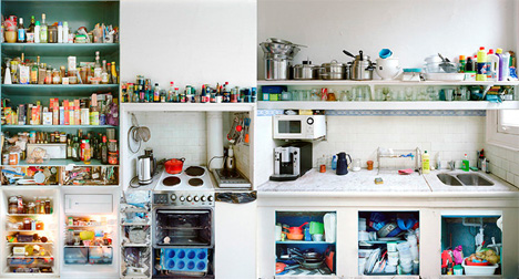 4 portraits inside kitchens amsterdam