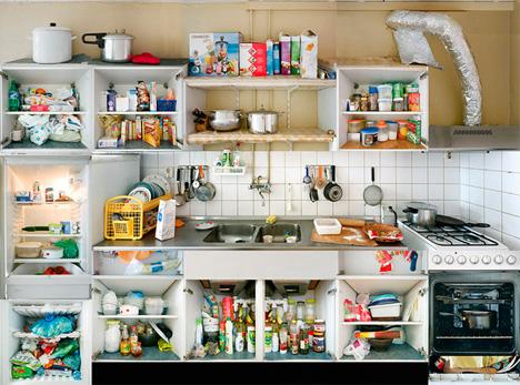 5 kitchen portraits