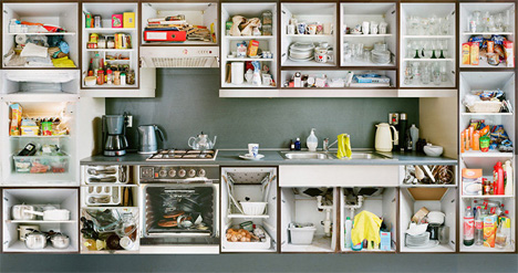 7 kitchen interior portraits