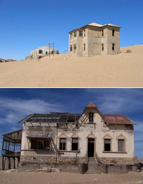 Abandoned Africa Kolmanskop 1