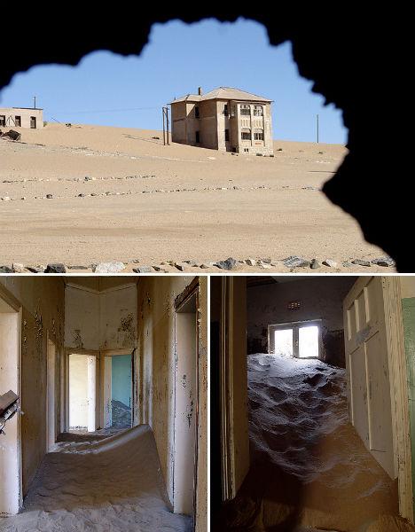 Abandoned Africa Kolmanskop 2