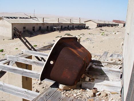 Abandoned Africa Kolmanskop 5