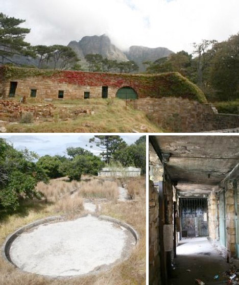 Abandoned Africa Rhodes Zoo