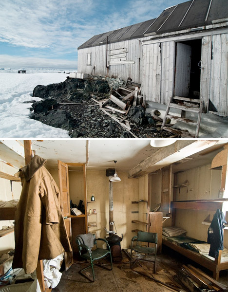Abandoned Antarctica Base W 1