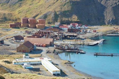 Abandoned Antarctica Grytviken