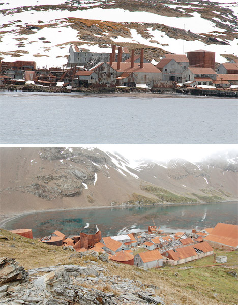 Abandoned Antarctica Leith Harbour