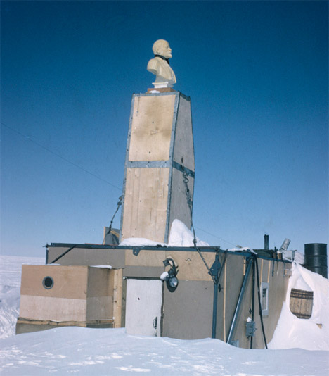 Abandoned Antarctica Pole of Inaccessibility 2