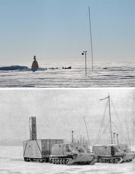 Abandoned Antarctica Pole of Inaccessibility