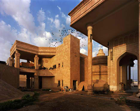 Abandoned Middle East Iraq Palace 1