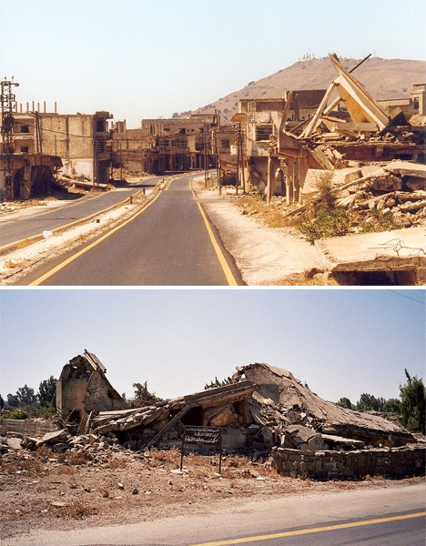 Abandoned Middle East Quneitra