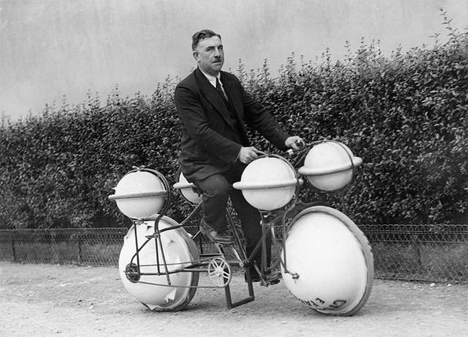 Bizarre Inventions Amphibious Bicycle